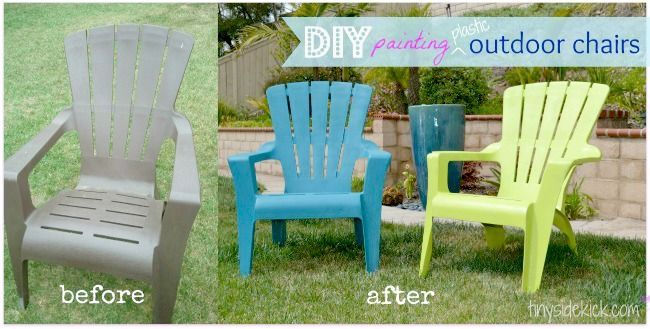How To Paint Plastic Outdoor Chairs How To Paint Plastic Outdoor