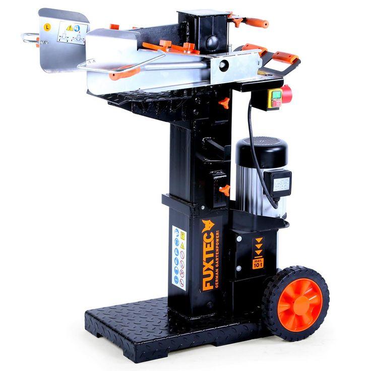 Štípačka na dřevo FX-HS110 zpracuje se štípacím výkonem 10 tun spolehlivě a rychle i tvrdé dřevo například z buku nebo dubu. Průměr polena: 80 – 320 mm, délka polena 615 / 890 / 1370 mm. Výkonný motor 3300 W, 400V 50Hz. Nastavitelný zásuvný stůl – pro krátké a dlouhé dřevo. Nízká spodní deska pro jednoduché uložení řezaného dřeva.