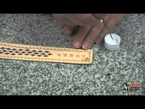 Making Adjustable Leather Wristbands - YouTube