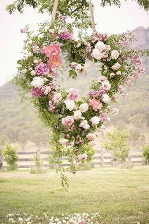35 best spring floral designs images on pinterest spring flowers brides of adelaide magazine english country garden wedding floral wreath garden decoration junglespirit Gallery