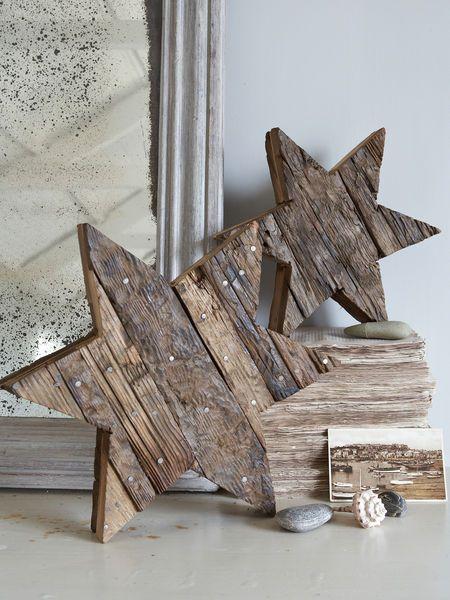 Reclaimed Wooden Star ♥