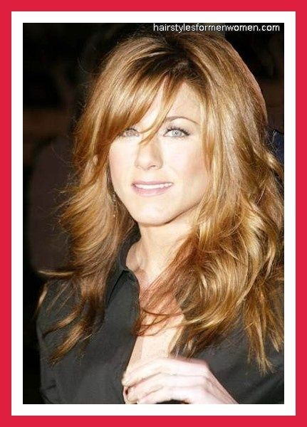 hairstyles with side swept bangs and long layers