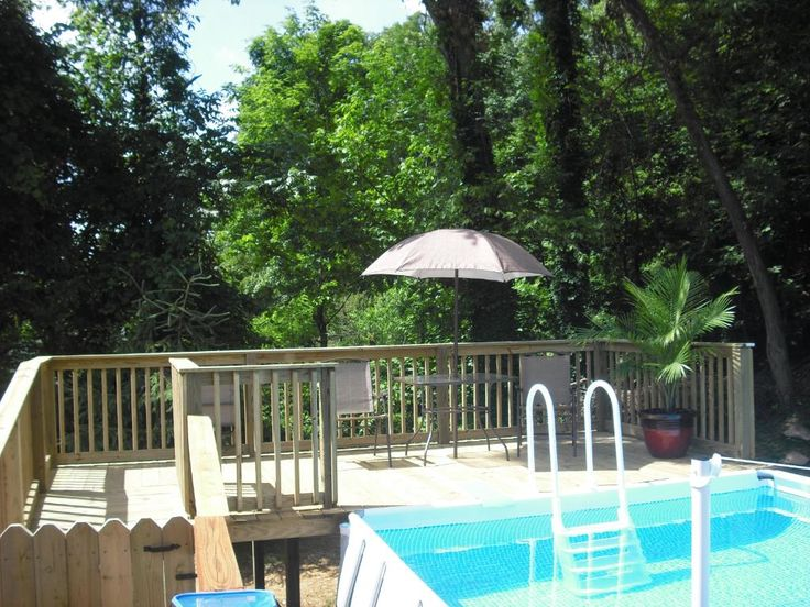 Decks For Above Ground Intex Ultra Frame Rectangular Pools