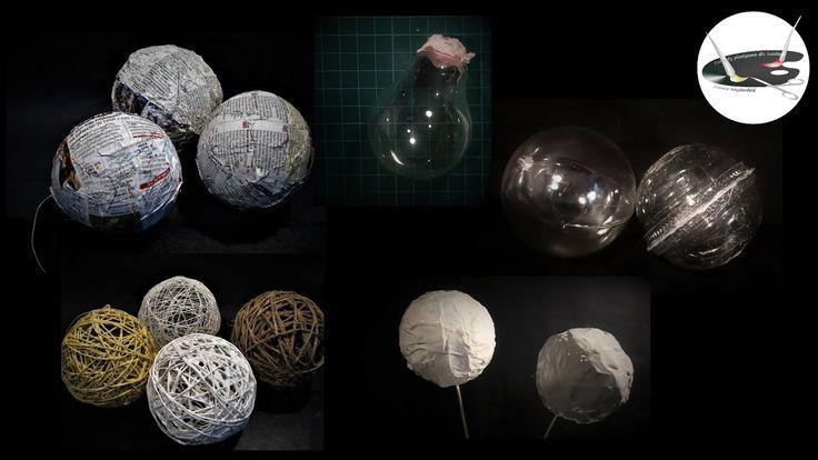 5 pomysłów na proste podstawy do bombek DiY -   Pomysły plastyczne dla k...