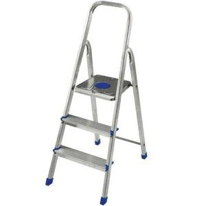 Escada de alumínio 3 degraus