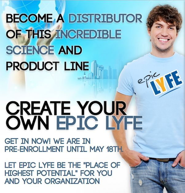 Are you ready to do something EXTRAORDINARY? The door is open. You've been invited to the table. The next step is yours. http://fanievvuuren.epiclyfe.com/prelaunch