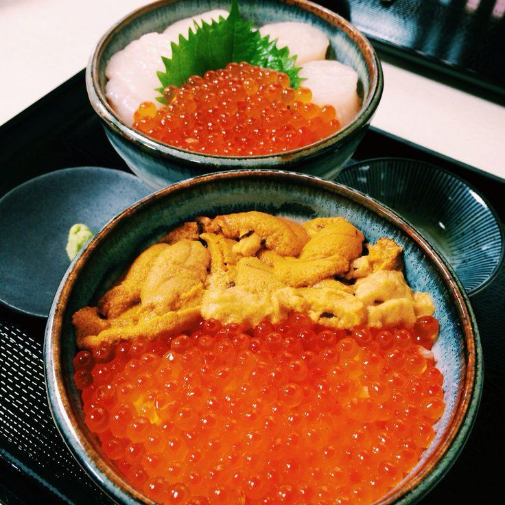 Seafood don from Hokkaido
