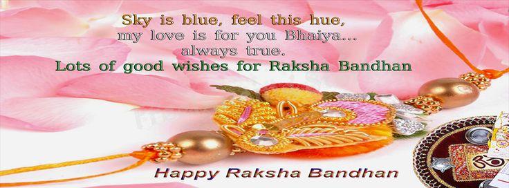 Happy Raksha Bandhan 2014 - Facebook Covers - Freelancing Stories  Raksha Bandhan Messages