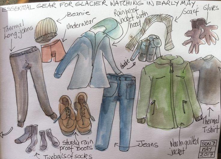 Clothing for Glacier Bay!