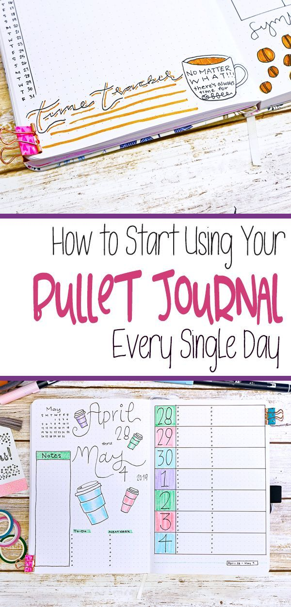 Get in the bullet journal habit with this 14 easy steps to make bullet journalin…