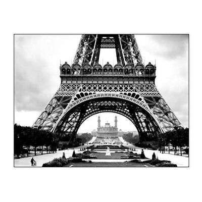 ''La Tour Eiffel Et Le Vieux Trocadero'' by Roger-Viollet Collection Photography Art Print