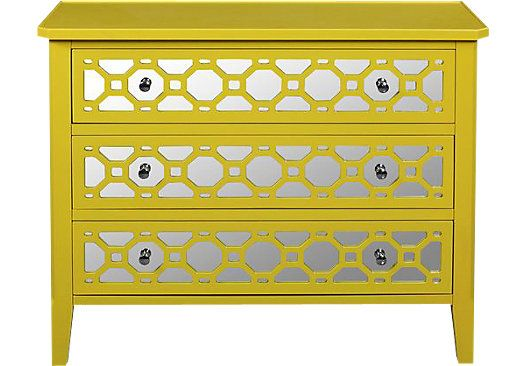 Shop for a Honeycomb Yellow Chest at Rooms To Go Kids. Find  that will look great in your home and complement the rest of your furniture.