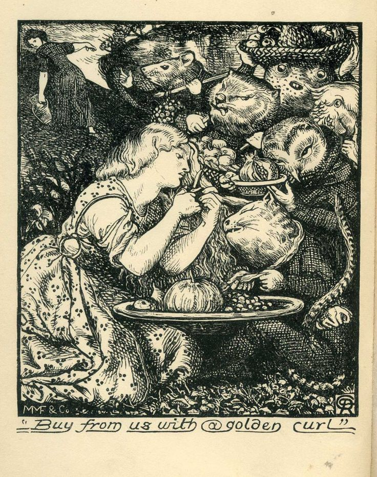 Goblin Market, The Prince's Progess and other poems, Christina Rossetti