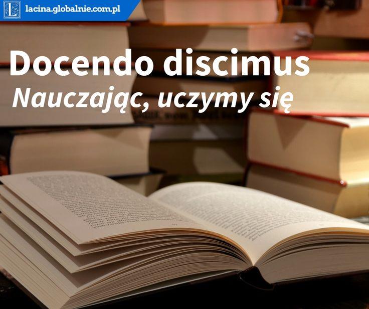 #łacina #sentencje #cytaty #aforyzmy #złotemyśli #sentencjeonauce #docendo #discimus