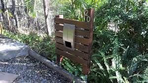 Image result for timber letterbox designs