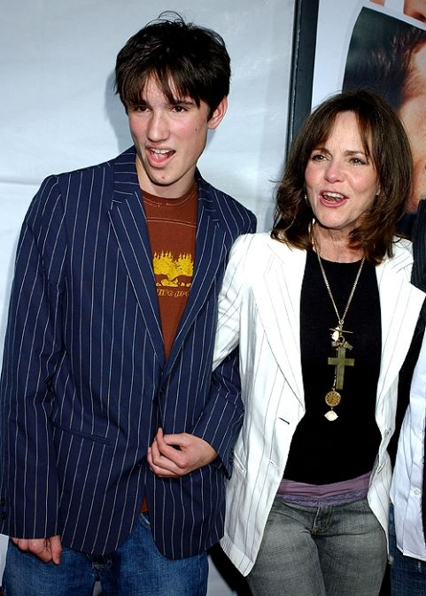 actress Sally Field and her son Sam Greisman