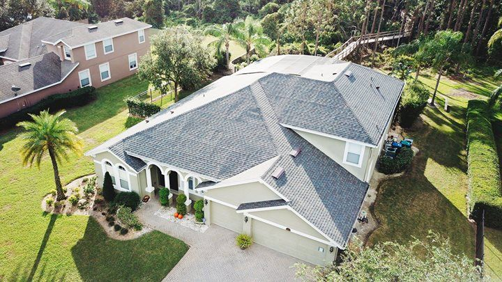 Check Out This Beautiful Roof On A Beautiful House We Worked On In Central Florida Thank S For Choosing Us Beautiful Roofs Beautiful Homes Roofing