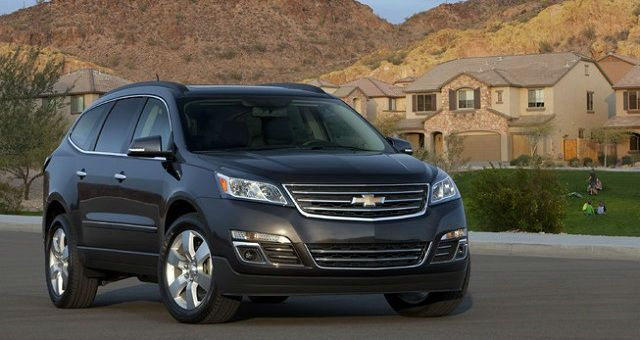 2017 Chevrolet Traverse Black