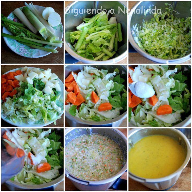 Dopo Nenalinda: Minestra di verdura con e senza Bimby .....