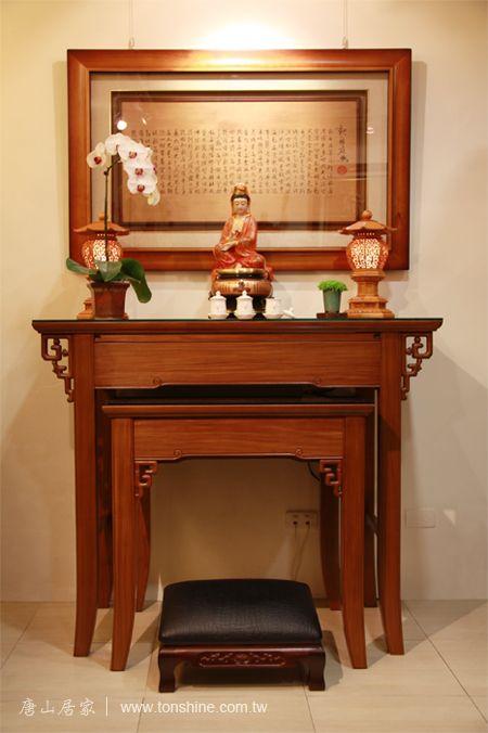 唐山佛具-原木神桌設計工藝