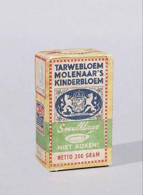 Tarwebloem Molenaars kinderbloem smulklaar niet koken.