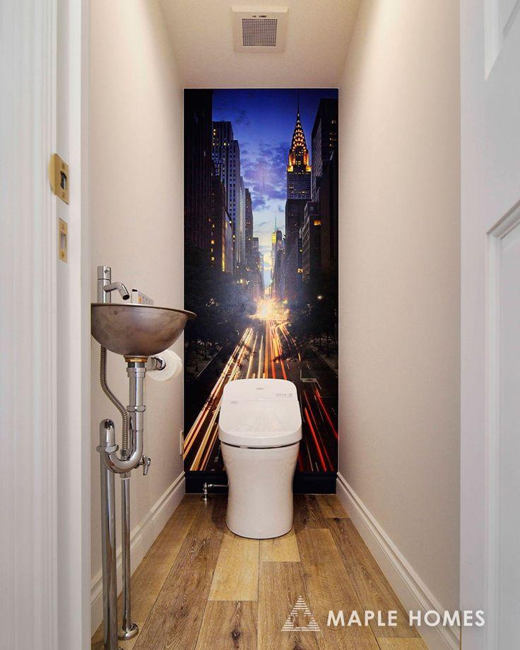おしゃれすぎやしませんか?このトイレ。  Isn't it a good Toilet????? #メープルホームズ  #輸入住宅  #MAPLEHOMES  #シャビーシック  #アメリカン  #フレンチ  #プロバンス  #ニューヨーク  #北欧  #北仏  #南仏  #パリ  #ペットと暮らす家  #コンテンポラリー  #赤毛のアンの家  #赤毛のアン  #ケープコッド  #イングランド  #ティンバーフレーム  #サンタフェ  #ガレージ  #浜松  #follow  #follow4follow  #フォローミー  #l4l  #tagsforlikes  #instagood