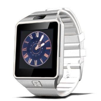 Wireless Bluetooth V4.1 Smart Watch Fitness Wrist Watch LCD Bracelet w/ Camera, Pedometer for iOS & Android Smartphones (White). Premium Quality Wireless Bluetooth V4.1 Smartwatch Bracelet Fitness Wristwatch with Camera and Pedometer compatible with iOS and Android Smartphones. Best OGS capacitive touch screen. Powered by energy-saving Bluetooth V4.1 that seamlessly syncs with bluetooth smartphones and other bluetooth devices such as iPhone 6S, iPhone 6S Plus, iPhone 6, iPhone 6 Plus…