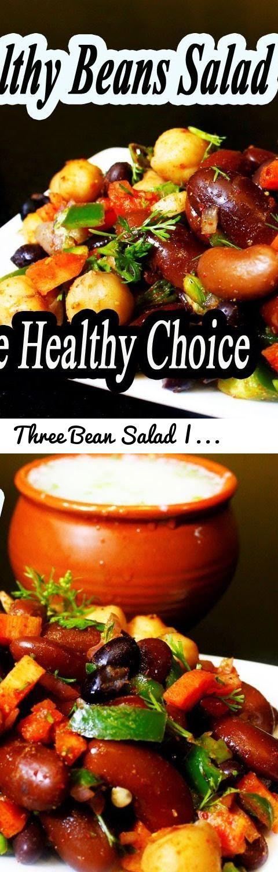 Three Bean Salad | HEALTHY THREE BEAN SALAD RECIPE | Healthy bean Salad  MadhurasRecipe | Ep - 612... Tags: Indian Food, Indian recipes, Quick Easy Indian recipes, Indian Recipe Videos, Three bean salad recipe easy, Healthy Bean Salad, Mexican Recipe, Mexican Bean Salad, How to...Make a Killer Three Bean Salad, Black Bean Salad Recipe, How to Make a Black Bean Salad, 3 Tasty Salad Recipes, Beans Chaat, Salad with yogurt dressing, Layered salad recipe, Healthy Weightloss Salad Recipe by…