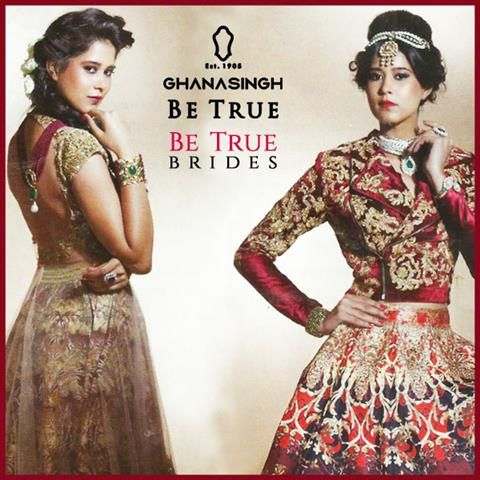 Contemporary Brides: The latest trends of Maatha Pattis & Back Necklaces are finding their way into the wedding trousseau of #BeTrueBrides.