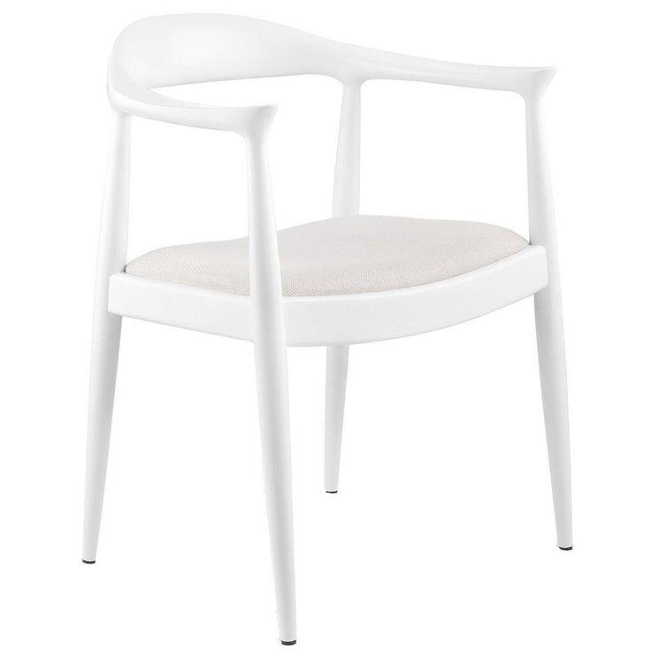 Bungalow 5 Danish Armchair | White