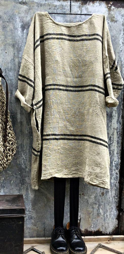 Winter Linen Dress MegbyDesign
