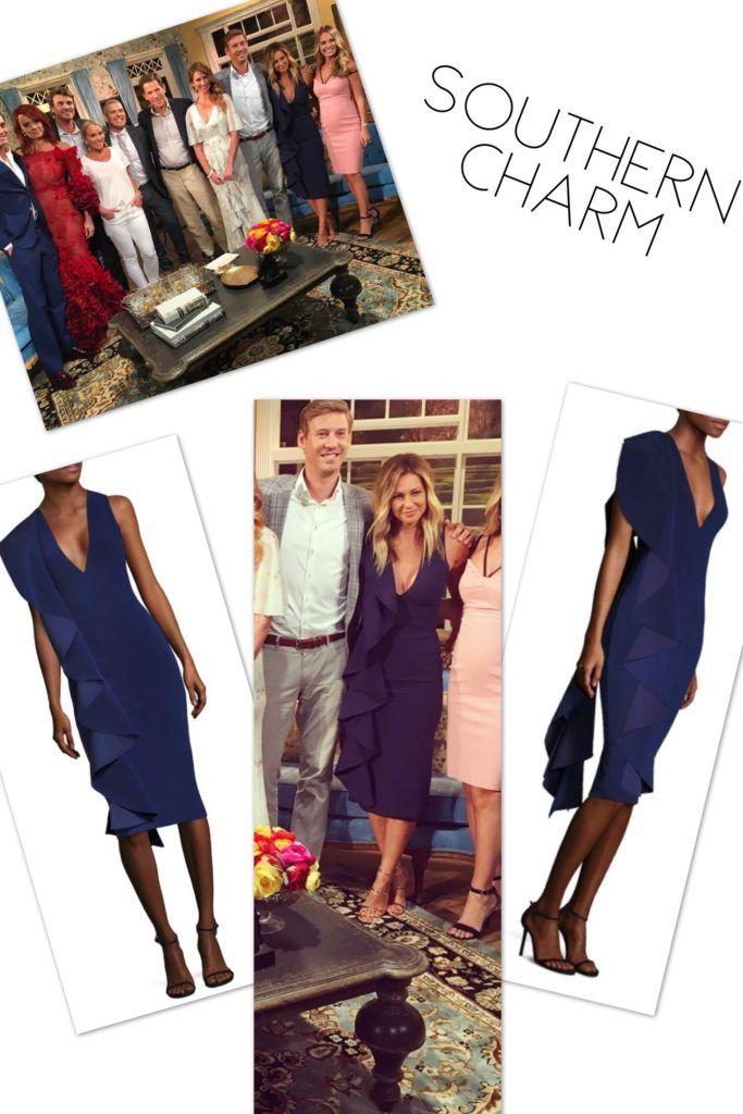 Chelsea Meissner's Southern Charm Season 4 Reunion Dress http://www.bigblondehair.com/reality-tv/chelsea-meissners-southern-charm-season-4-reunion-dress/