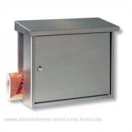 Burg Wächter Edelstahl Briefkasten Hanseatic von Burg Wächter - BW3816NI online kaufen in unserem Shop | www.besonderes-rund-ums-haus.de