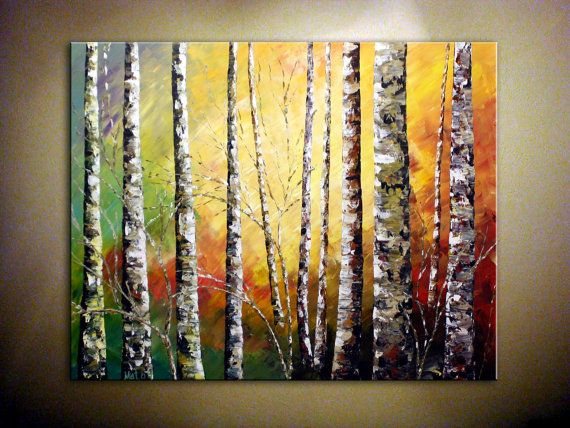Best 25 acrylic landscape painting ideas on pinterest for Palette knife painting acrylic