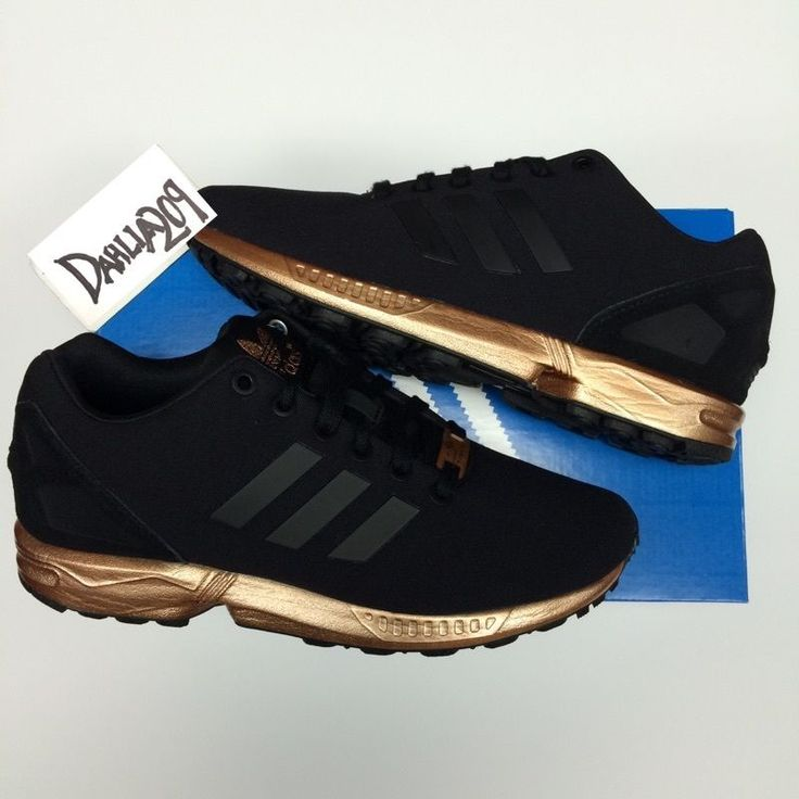 adidas black and rose gold tennis shoes