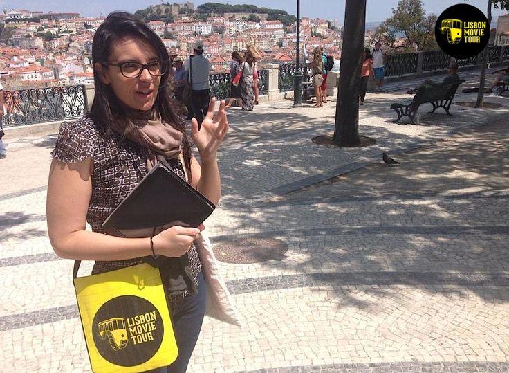 Sostiene Pereira (english tour / location: miradouro S. Pedro de Alcântara, Lisbon)