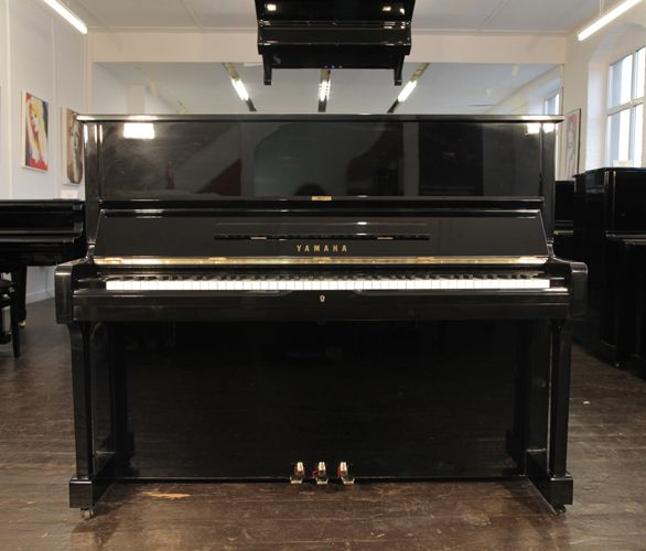 A 1976, Yamaha U1 upright piano with a black case and polyester finish at Besbrode Pianos £2700 This piano comes with a 3 year warranty, first free tuning and a free piano stool. 0% finance available subject to terms and conditions