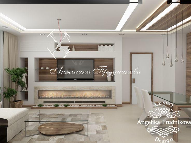 Дизайн-проект квартиры в стиле модерн в Стромынском переулке