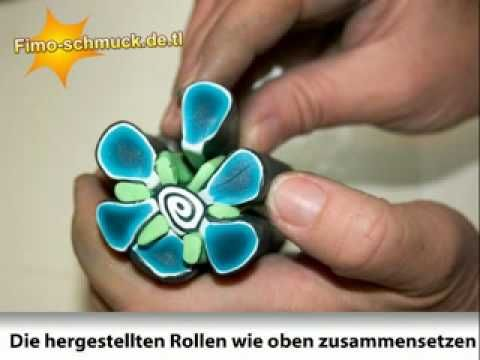 Donna kato tutorial (?) cute flower tutorial via youtube