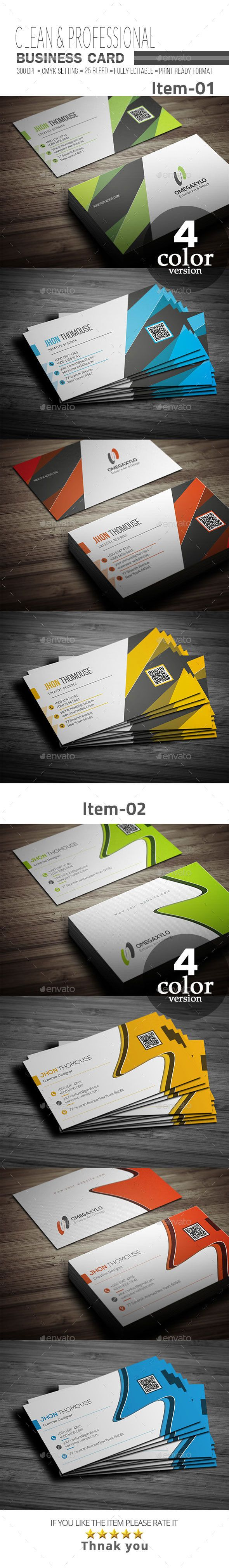 1220 best business cards images on pinterest name cards carte de business card bundle 2 in 1 corporate business cards reheart Image collections
