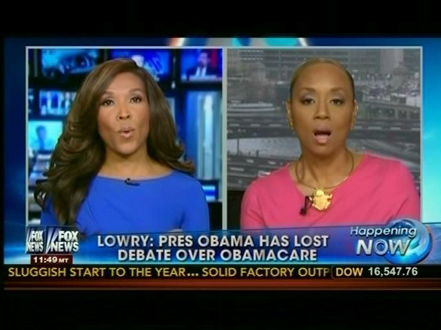 """Fox's Angela McGlowan: """"We Do Have A Problem With Slavery Today, As Lincoln Did,"""" Because Of Government Benefits"""