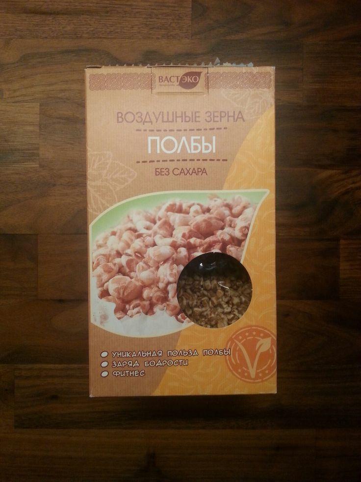 Вастэко воздушные зерна полбы без сахара
