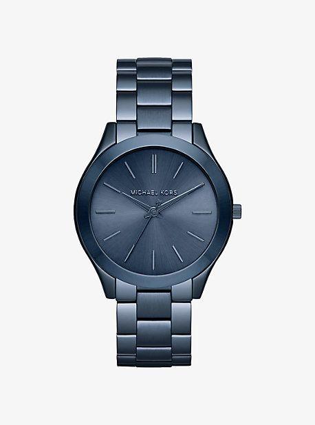 Slim Runway Blue Watch
