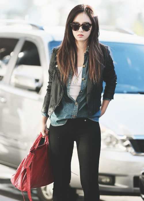 Snsd Yuri Airport Fashion 2014 Snsd Style Pinterest