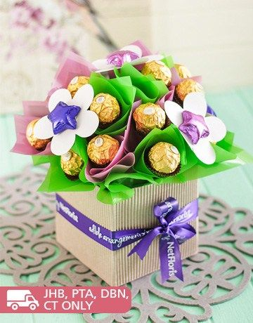 103 best edible arrangements images on pinterest edible blooming chocolate arrangement easter or mothers day negle Images