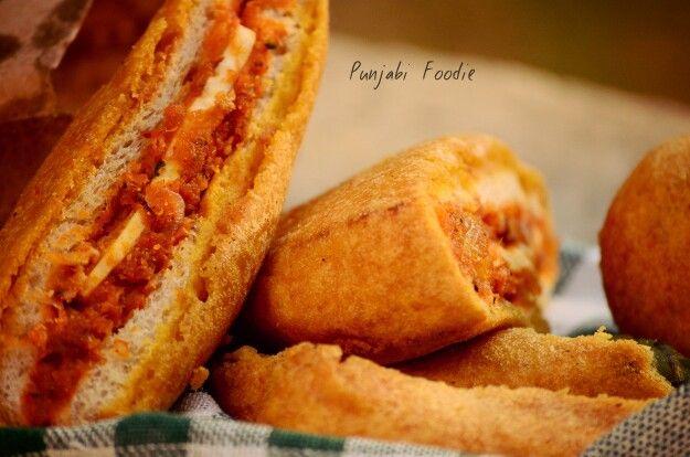 Ohh how i love these .. Pakore ... Punjabi foodie #food !!! ☺
