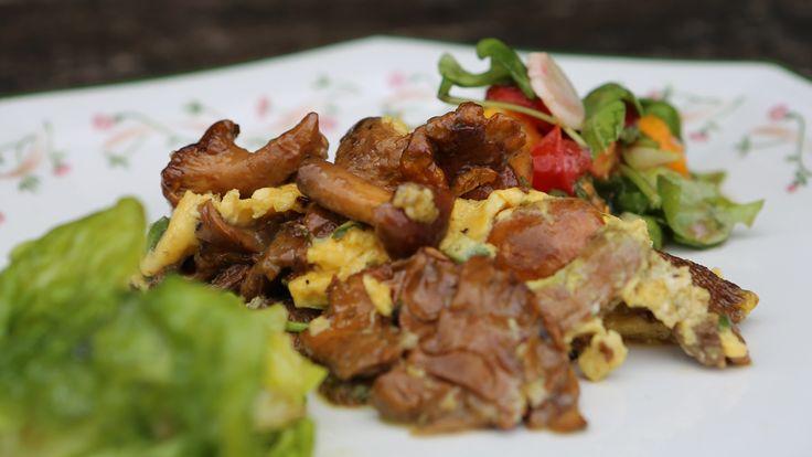 Como fazer omelete de cogumelo e ervas - Receitas - GNT