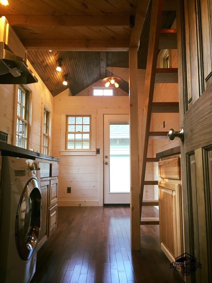 Astounding A Charming One Bedroom Tiny House On Wheels Designed And Complete Home Design Collection Papxelindsey Bellcom