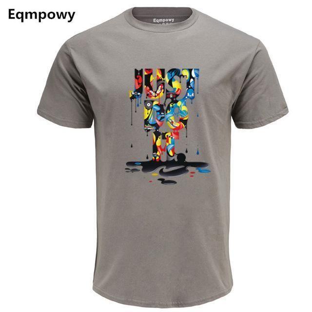 cce1d1e6f9f 2017 New Fashion 3D Cartoon T-Shirt Brand Clothing Hip Hop Letter Print Men  T