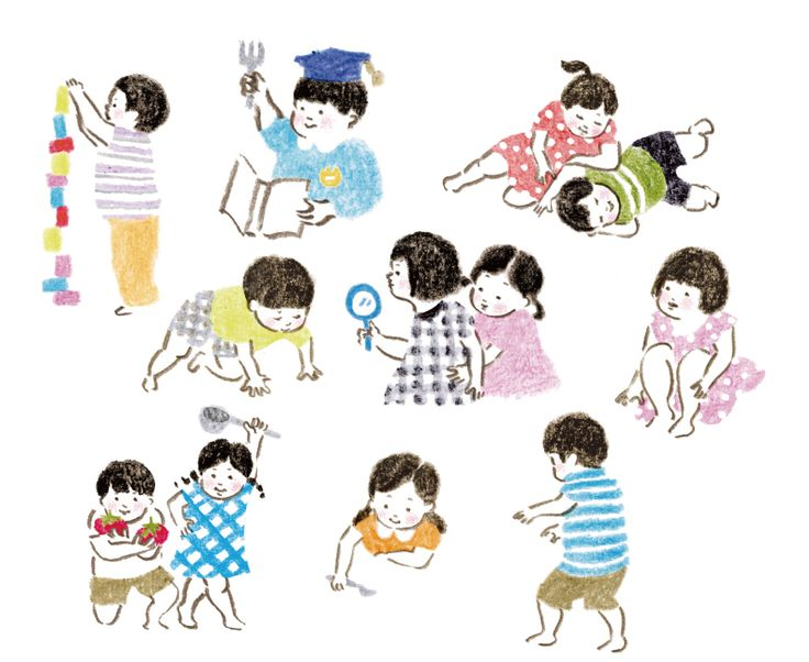 【Work】雑誌掲載イラストカット / 『edu 9月号』小学館